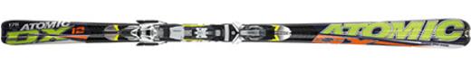 Горные лыжи Atomic Atomic SX12pb + крепления NEOX SF 614