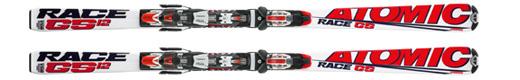 Горные лыжи Atomic GS 12.2 jr +крепления Neox AF 310