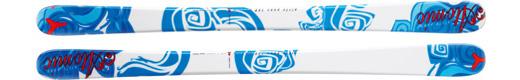 Горные лыжи Atomic Girly Punx + крепления FFG 8