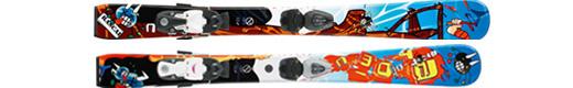 Горные лыжи Atomic Mini Rascal + крепления Evox 045