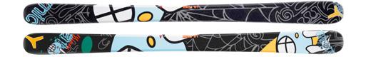Горные лыжи Atomic Lil Punx + крепления FFG 8