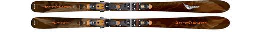Горные лыжи Rossignol Bandit B78 + Axial2 120 TPI2