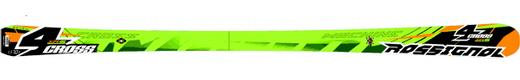 Горные лыжи Rossignol 4Cross + крепления Axium 100