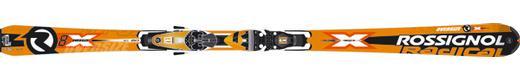 Горные лыжи Rossignol Radical R8X Oversize + крепления Axium 120 TPI2
