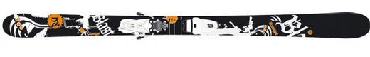 Горные лыжи Rossignol Blast + Axium Scratch 100
