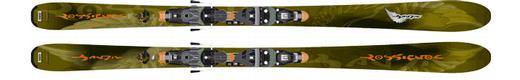 Горные лыжи Rossignol Bandit B83 + крепления Axial2 120 Wide TPI2
