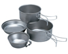 Набор посуды из титана  SnowPeak Titanium Сookware, 4 pcs