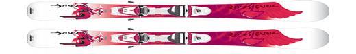 Горные лыжи  Rossignol Bandit B74 W + Saphir 90 TPI2