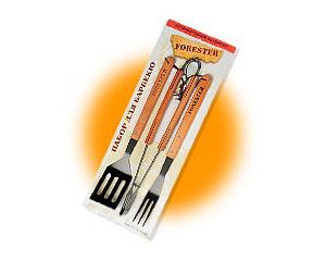 Набор для барбекю Forester с антипригарным покрытием с деревянными ручками