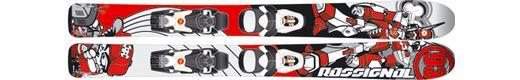 Горные лыжи Rossignol Robot + Comp Kid