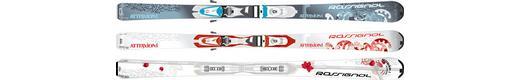 Горные лыжи  Rossignol Attraxion I + Saphir 90 TPI2