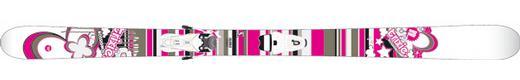 Горные лыжи Rossignol Trixie + Scratch 100