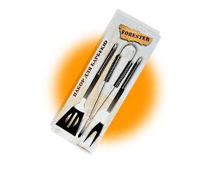 Набор для барбекю Forester с металлическими ручками