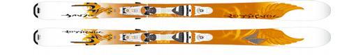 Горные лыжи Rossignol Bandit B83 W + Axium 110 TPI2