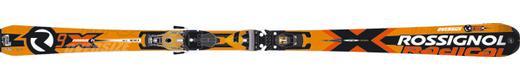 Горные лыжи Rossignol Radical R9X TI Oversize + крепления Axial2 140 Ti TPI2