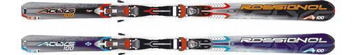 Горные лыжи Rossignol Actys 100 + крепления Axium 100