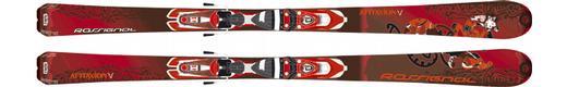 Горные лыжи Rossignol Attraxion V  + Saphir 110 TPI2