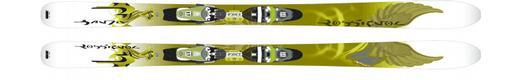 Горные лыжи Rossignol Bandit B94 W + Saphir 120 Wide