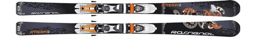 Горные лыжи Rossignol Attraxion III + Saphir 90