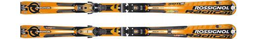 Горные лыжи Rossignol Radical R11 Mutix + крепления Axial2 140 Ti TPI2 Mutix