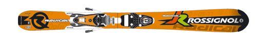 Горные лыжи Rossignol Radical J + Axium Jr