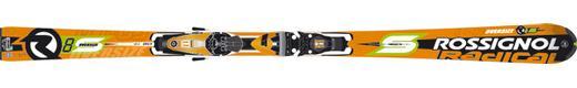 Горные лыжи Rossignol Radical R8S Oversize + крепления Axial2 120 TPI2