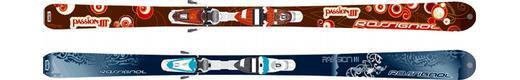 Горные лыжи Rossignol Passion III + Saphir 90 TPI2