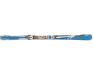 Горные лыжи Atomic IZOR 7:5m + крепления 4tix 412