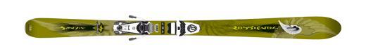 Горные лыжи  Rossignol Bandit Jr + Axium Jr