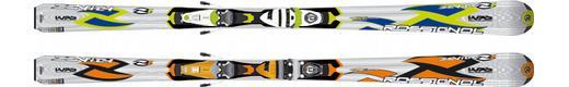 Горные лыжи Rossignol Zenith 1 Oversize + крепления Axium 100 TPI2