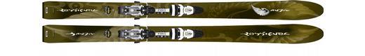Горные лыжи Rossignol Bandit B104 + крепления Axial2 200 Free XXL