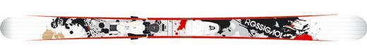 Горные лыжи Rossignol Scratch Brigade Pro + Axium Scratch 110