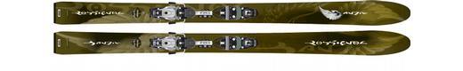 Горные лыжи Rossignol Bandit B100 + крепления Axial2 140 Ti Pro XXL