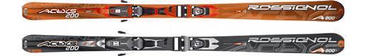 Горные лыжи Rossignol Actys 200 + крепления Axium 100 TPI2