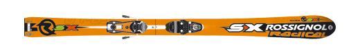 Горные лыжи Rossignol Radical RSX + Axium Jr Pro Race