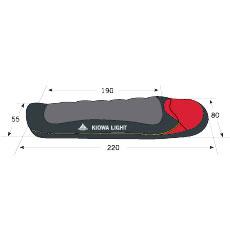 Спальный мешок VauDe Kiowa Light 220