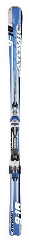 Горные лыжи Atomic 918 + крепления 4tix 310