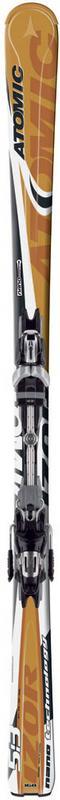 Горные лыжи Atomic IZOR 5:3m + крепления 4tix 310