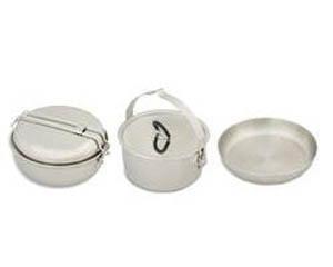 Набор туристической посуды Tatonka Camp Set Large