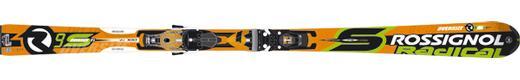 Горные лыжи Rossignol Radical R9S TI Oversize + крепления Axial2 140 Ti TPI2